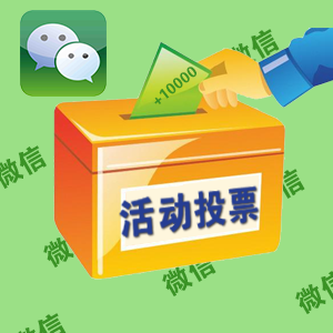 微信通用投票-人工投票(100)自动处理,注意商品注意事项!